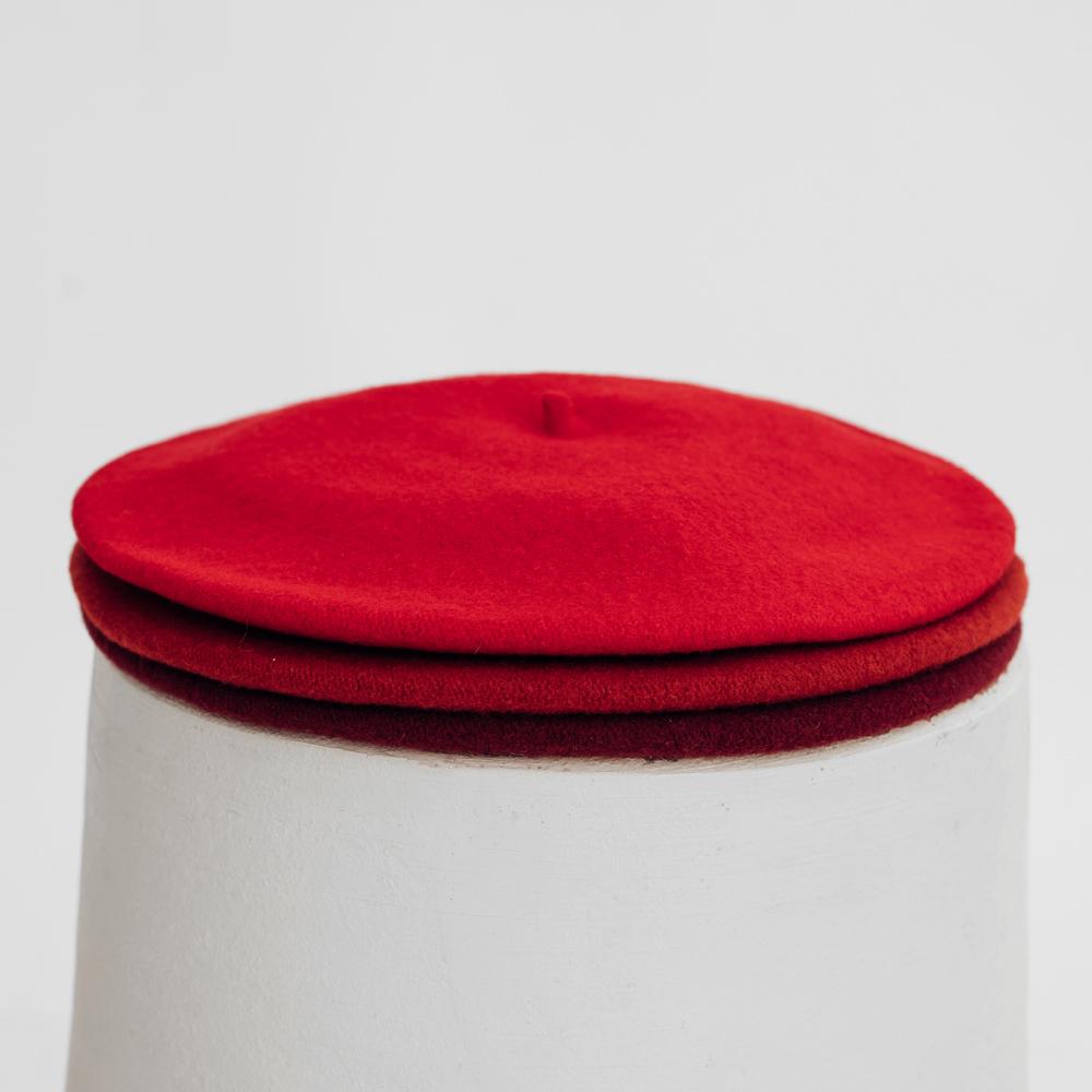 Hatthyllan Beret Palette - Red