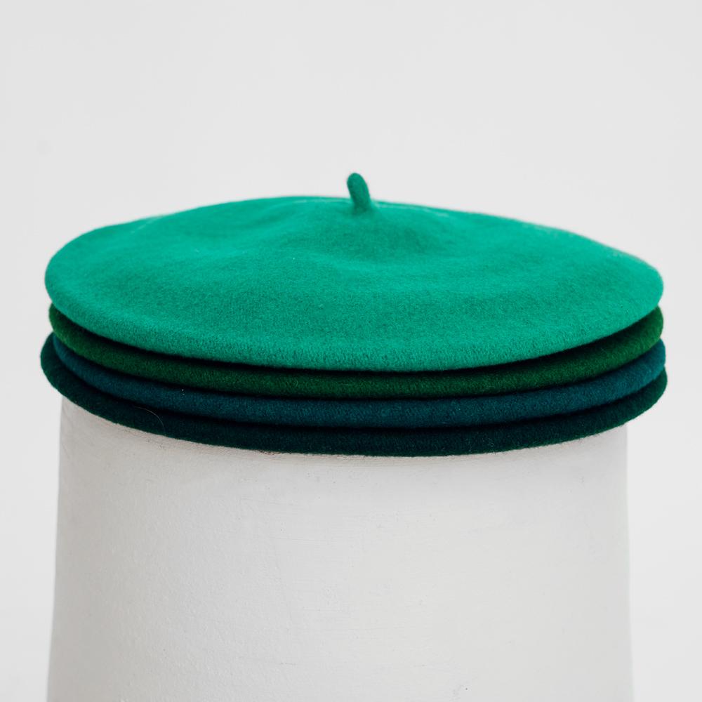 Hatthyllan Beret Palette Volume - Green