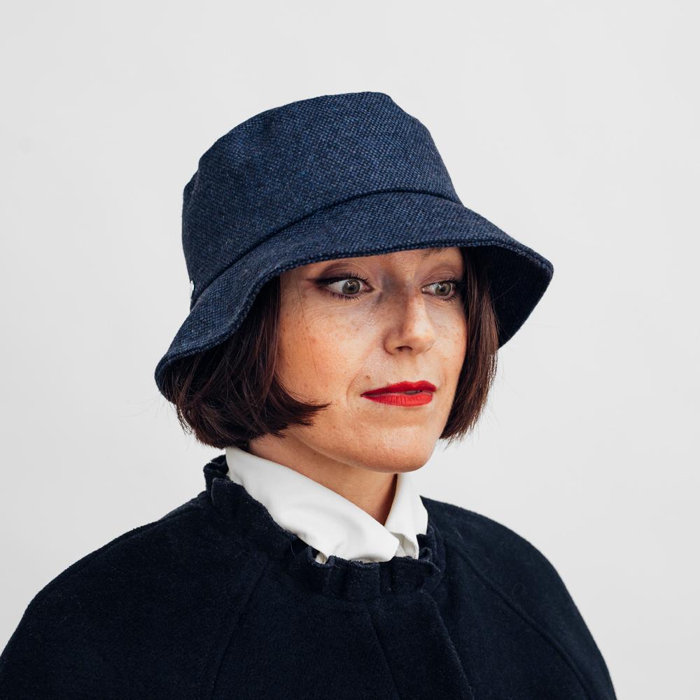 KN Bucket Hat Janni Dark Blue