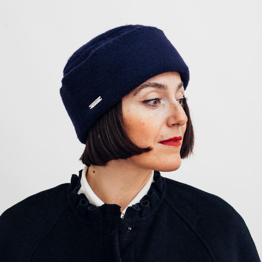 Seeberger Toque Woolmix Fabric - Flera Färgval