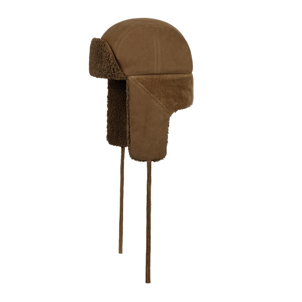 Stetson Bomber Cap Soft Cotton/Cord Brown