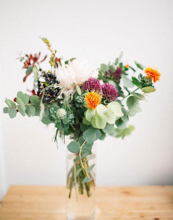 Blomleveranser varannan vecka till Hatthyllan från underbara Florera!
