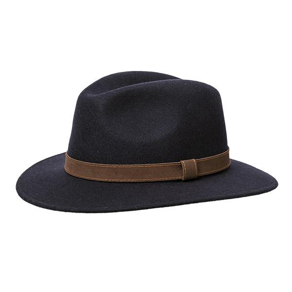 Wigéns  Bosco Hat Black
