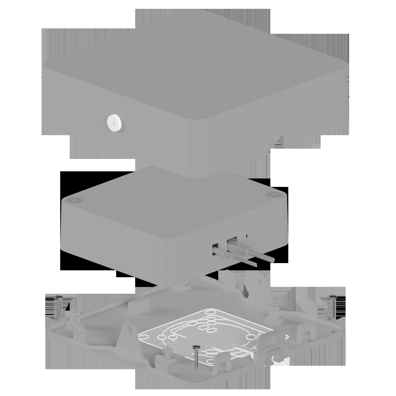Latch Hub hardware junction box
