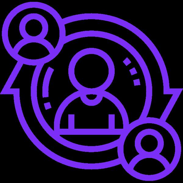 Mitarbeiter werben Mitarbeiter  - Icon
