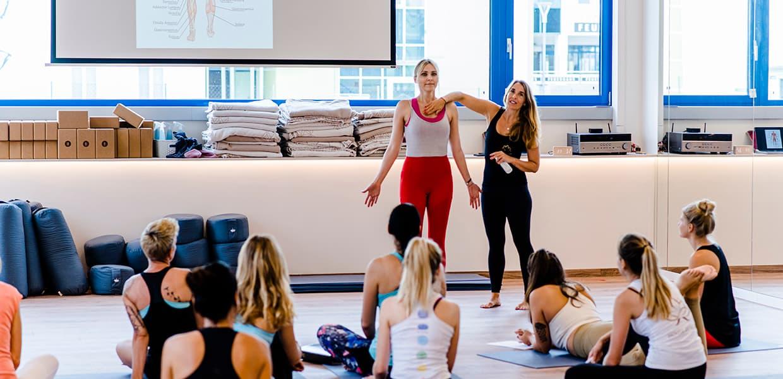 Yoga Schulung