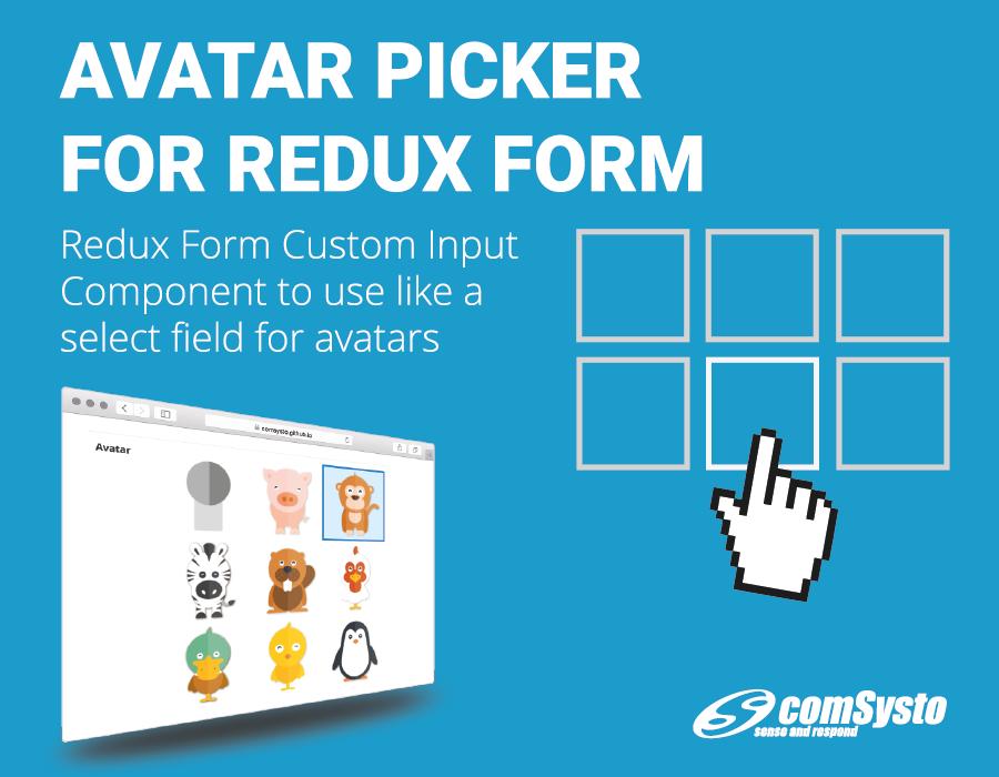 Avatar Picker for Redux Form