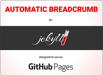 Automatic Breadcrumb for Jekyll on GitHub Pages