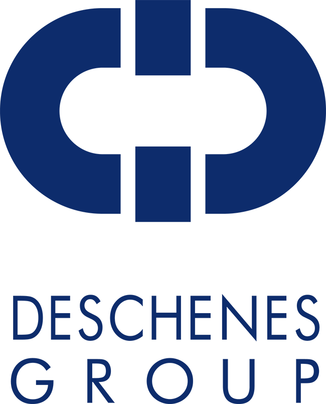 Deschenes Group Logo with Chain Link Graphic