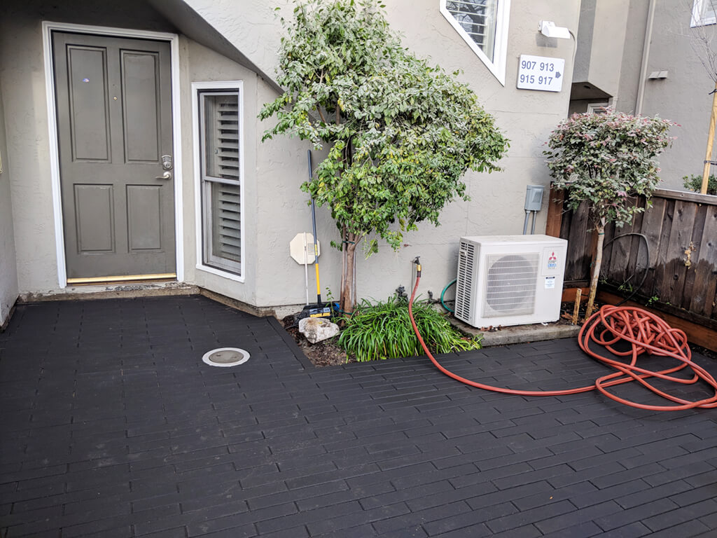 Featured Patio Project: John C. From Palo Alto, CA