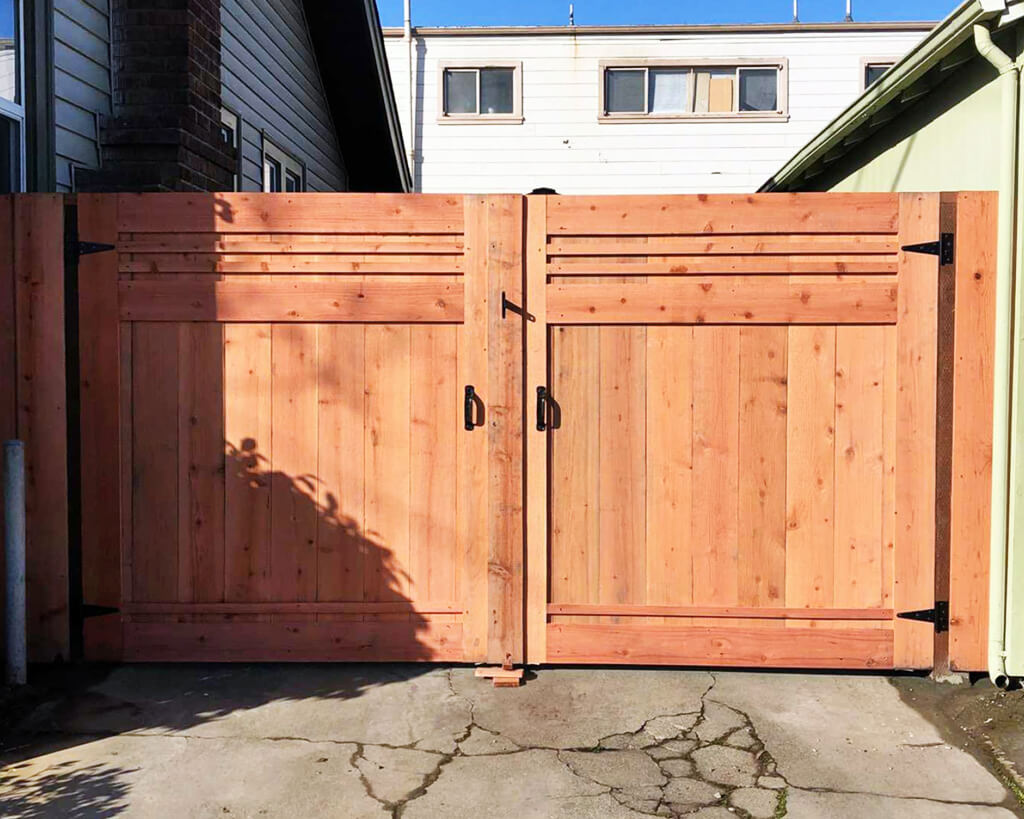 Ergeon 7 Wood Gate Style Options
