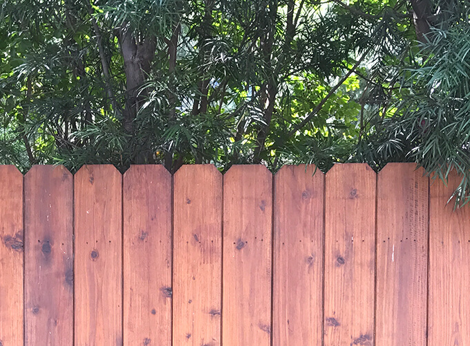 Nail Up fence