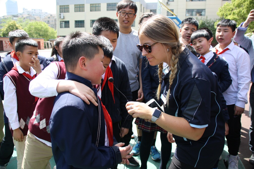 OutBeyond Study Tours | Teacher visiting school in China