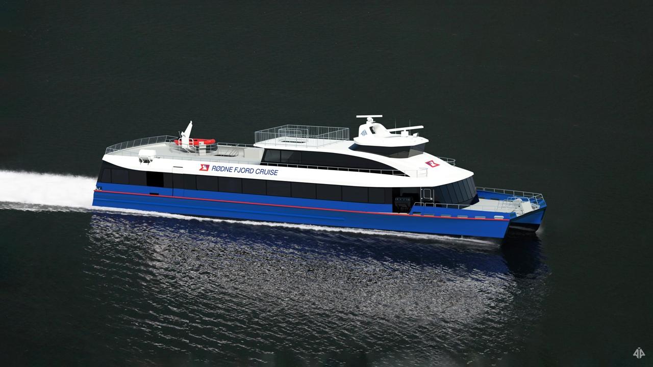 Bilde av rødne fjord cruise