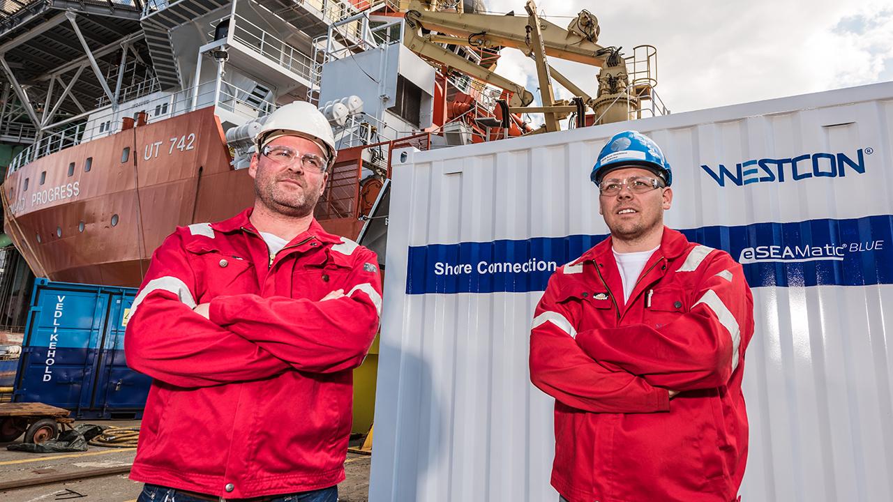 Gunvald Mortvedt og Rune Heddeland