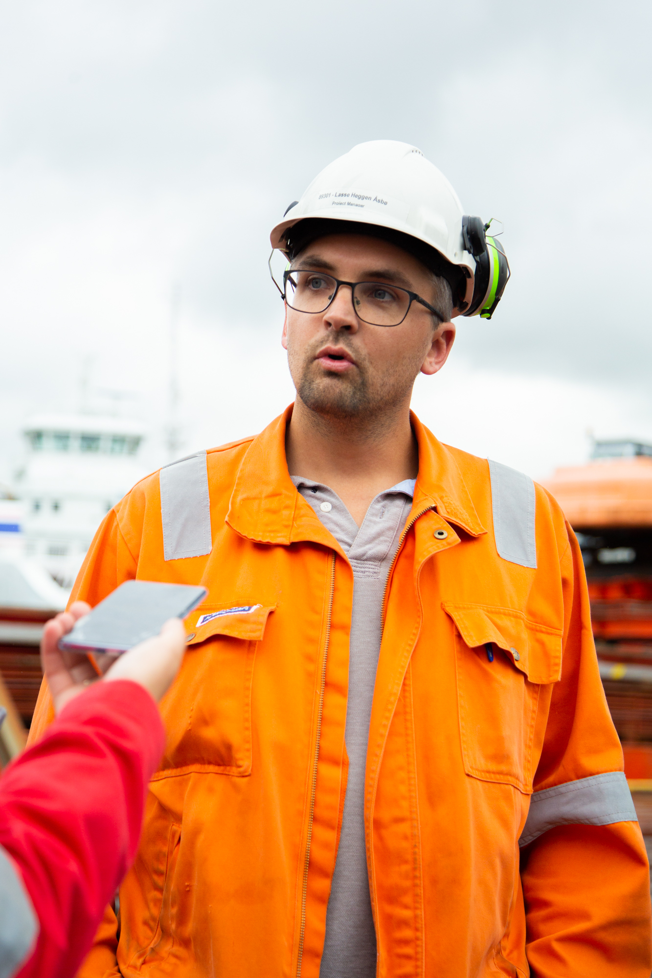 Lasse Heggen Åsbø er Prosjektleder i Skipsreparasjon hos Westcon Yards