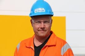 Leder for skipsbygging ved Westcon Yards, Endre Matre. Foto: Helge Martin Markussen