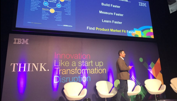 How to Think Like a Startup - Keynote at IBM's Symposium