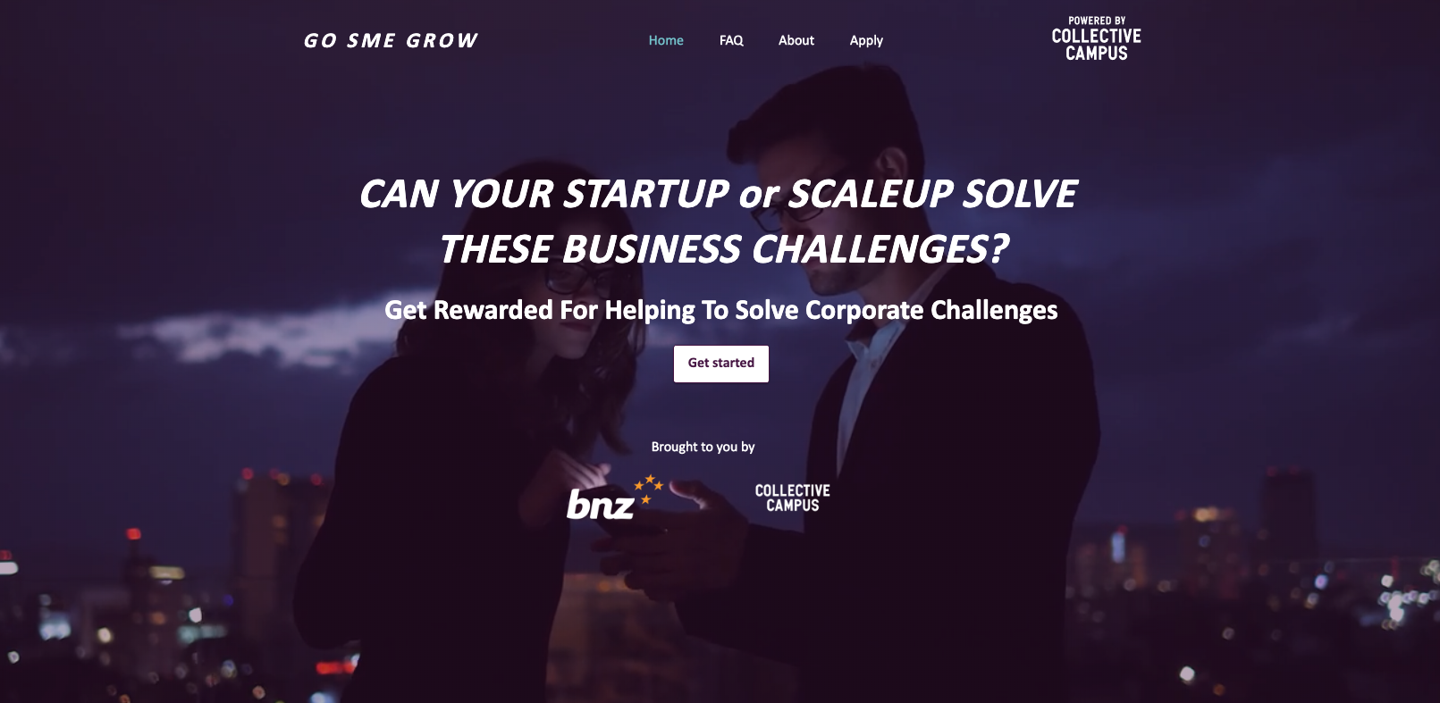 Go SME Grow program website