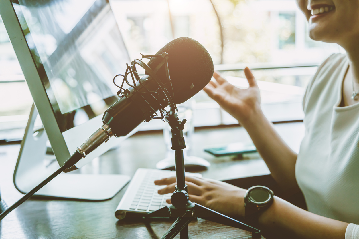 Using Podcasts to Share Faith and Hope