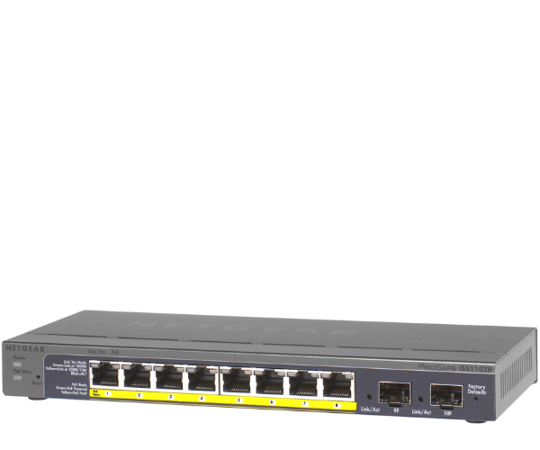 GS110 Smart Switch 8 Port