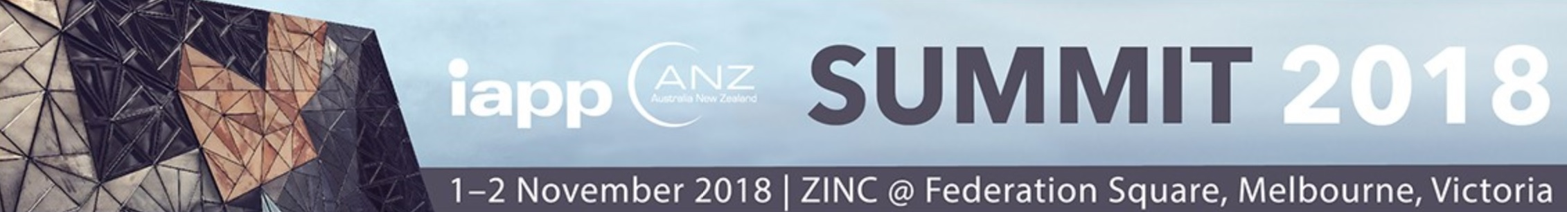 iappANZ Annual Summit – Melbourne 2018