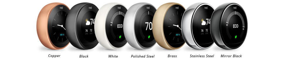 Nest Thermostat Colors