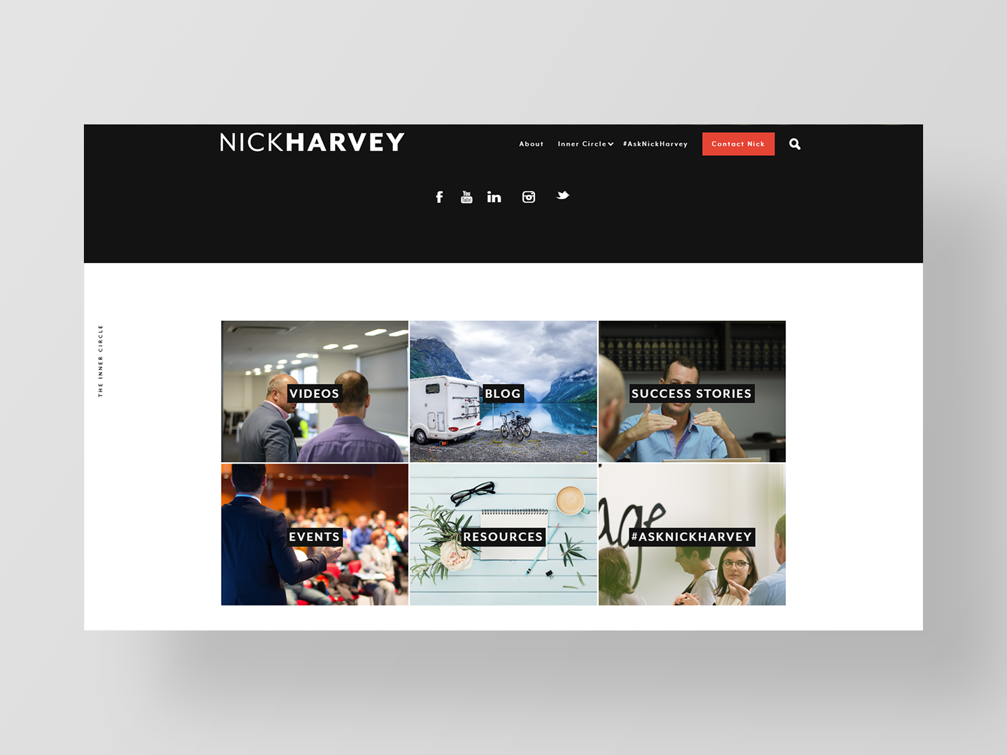 Nick Harvey - Website design by Neon HiveNick Harvey - Website design by Neon Hive