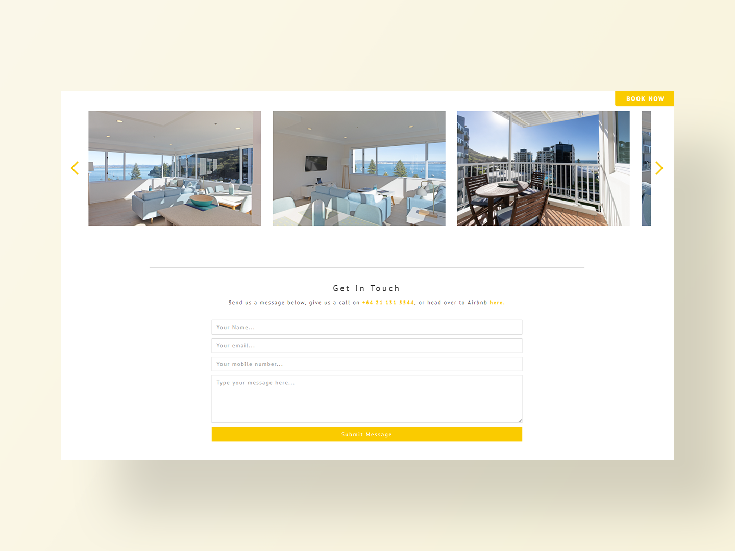 The Beaumont's new website by Neon Hive