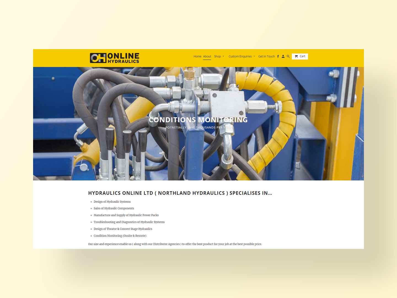 Online Hydraulics | Portfolio | Neon Hive