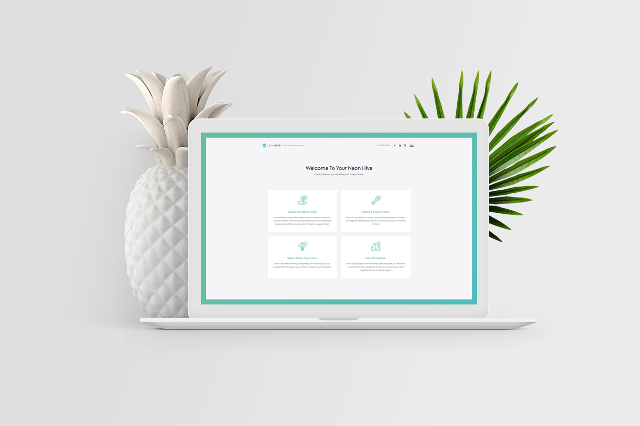 New Client Portal