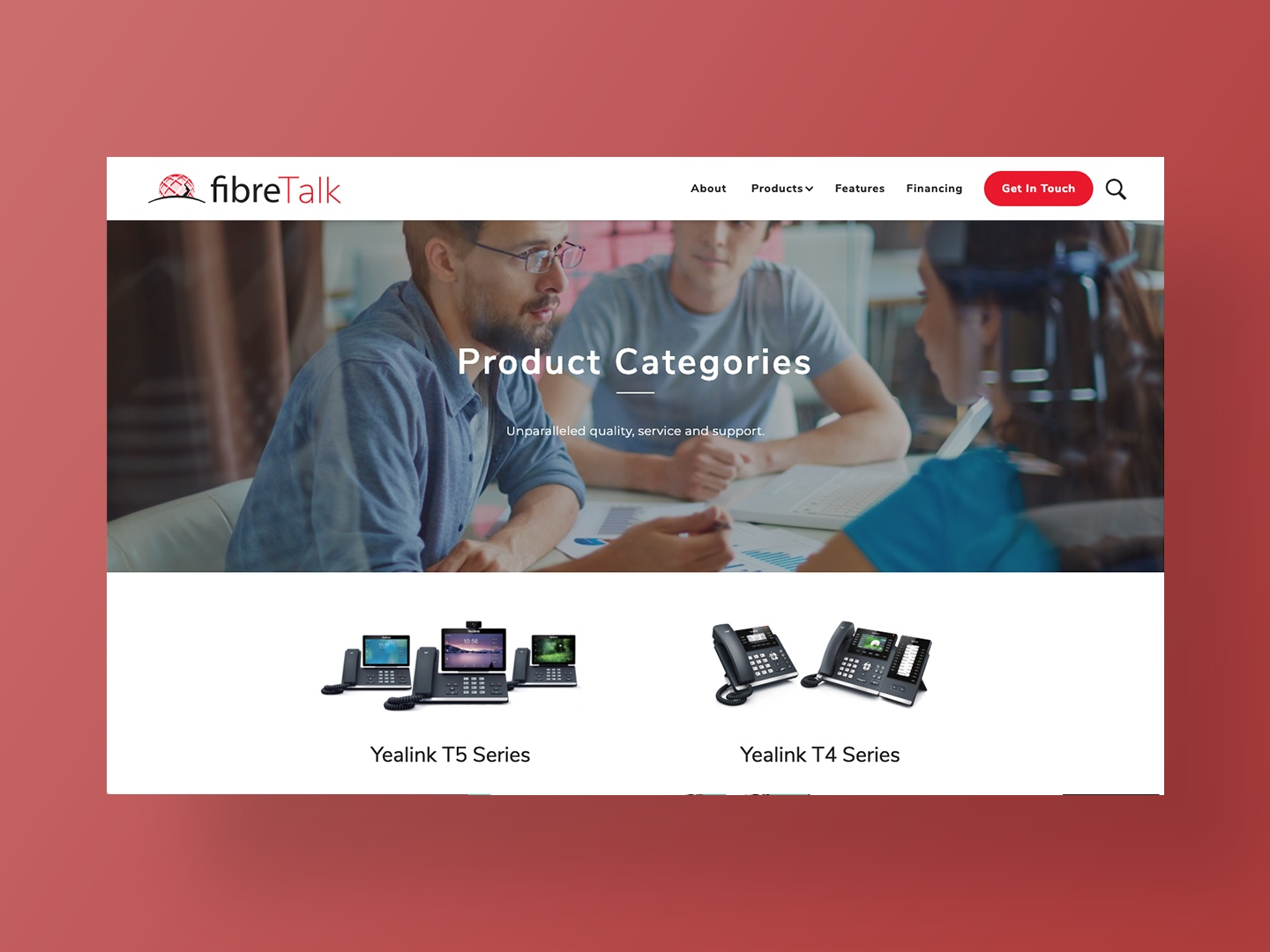 Fibretalks Website Designed by Neon Hive