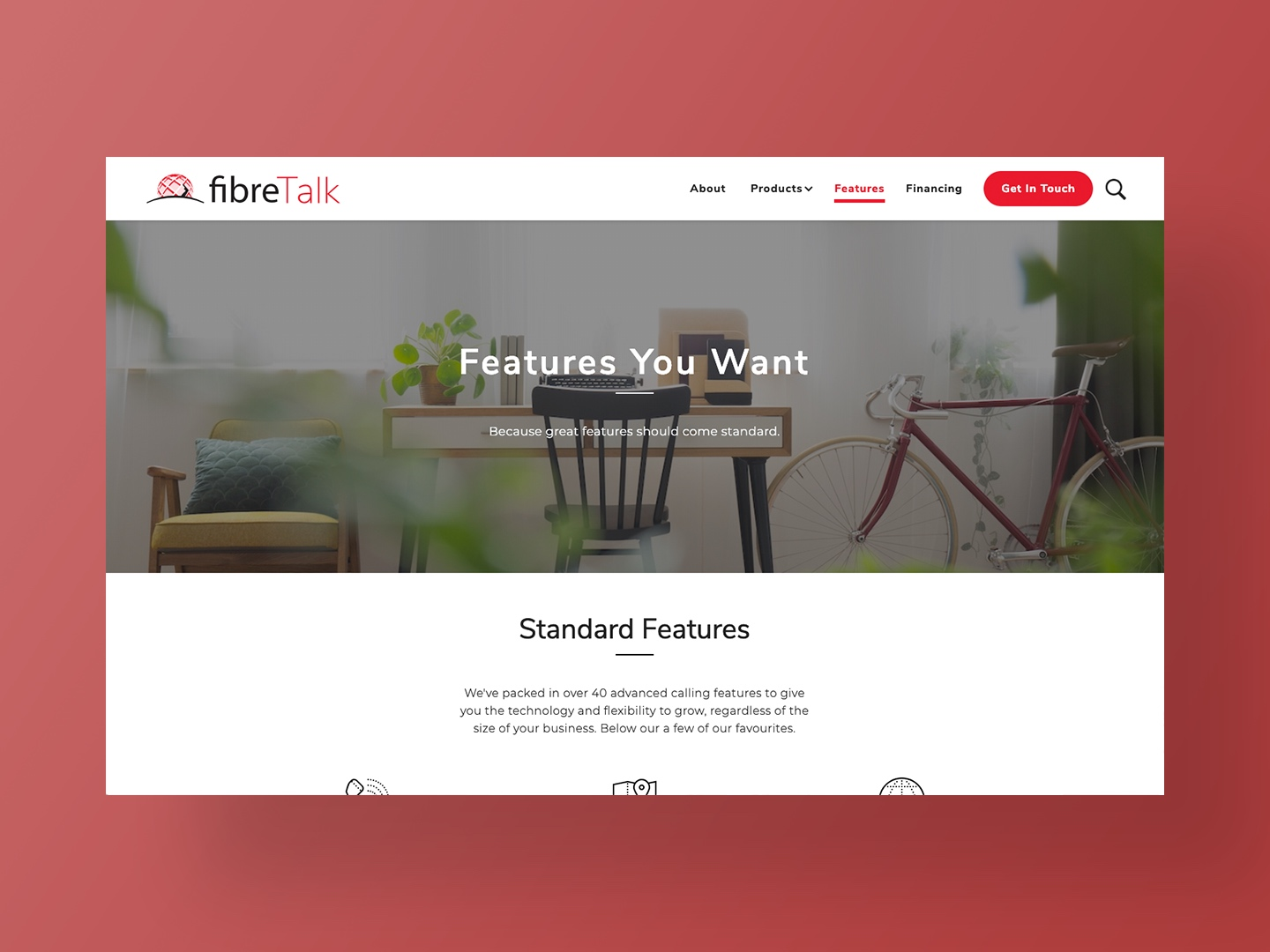 Website Design Fibre Talk