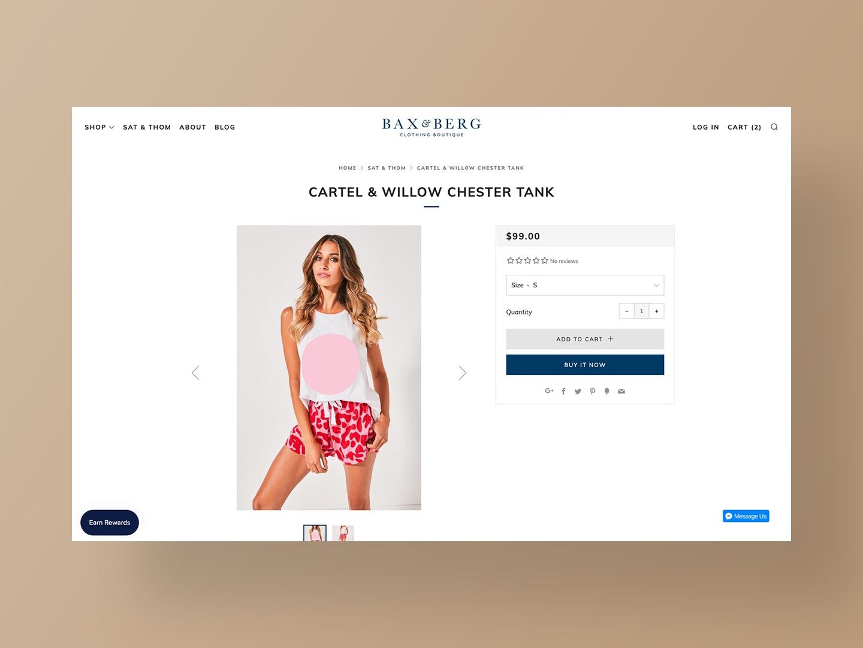 Bax & Berg Website Design by Neon Hive