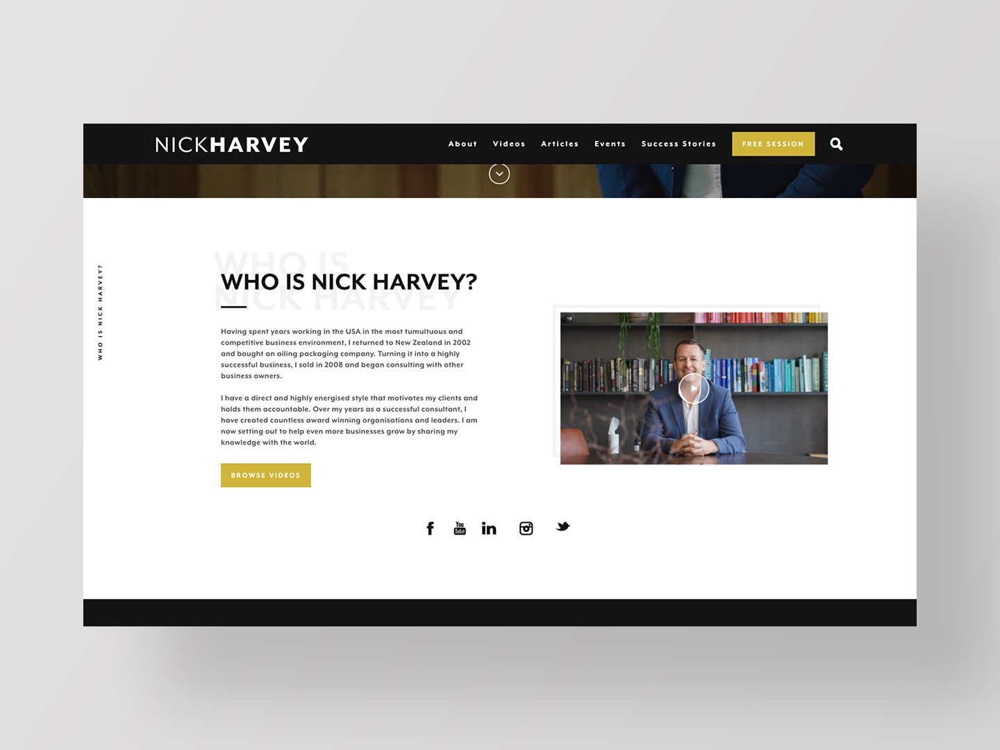 Nick Harvey by Neon Hive