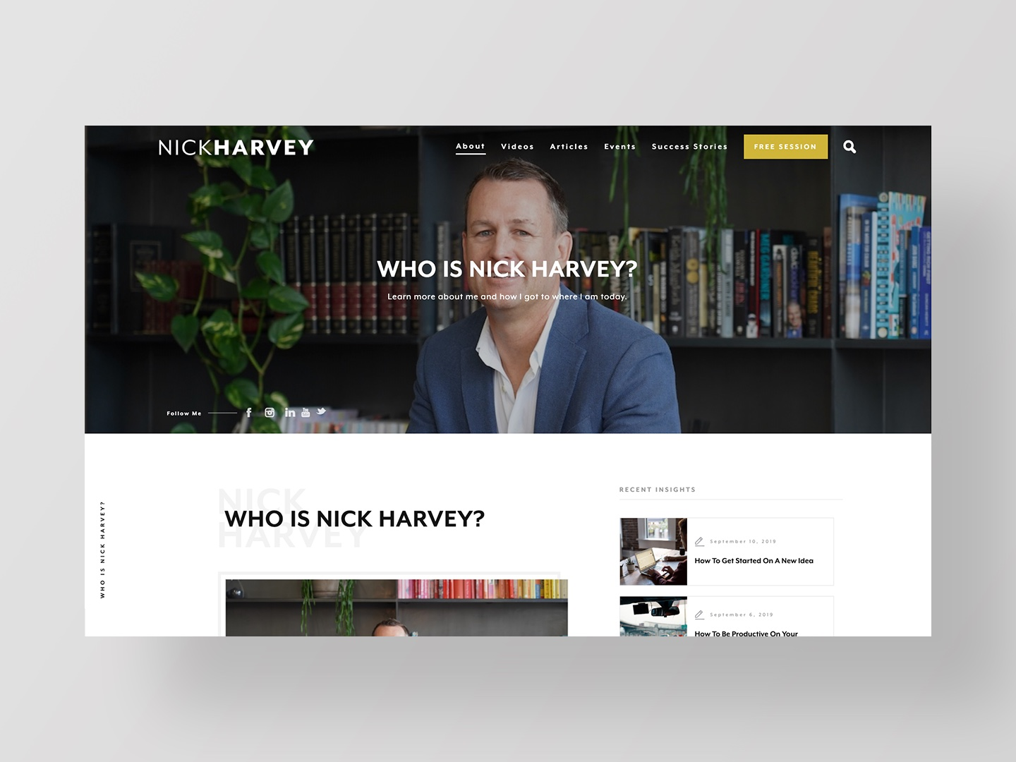 Who Is Nick Harvey by Neon Hive