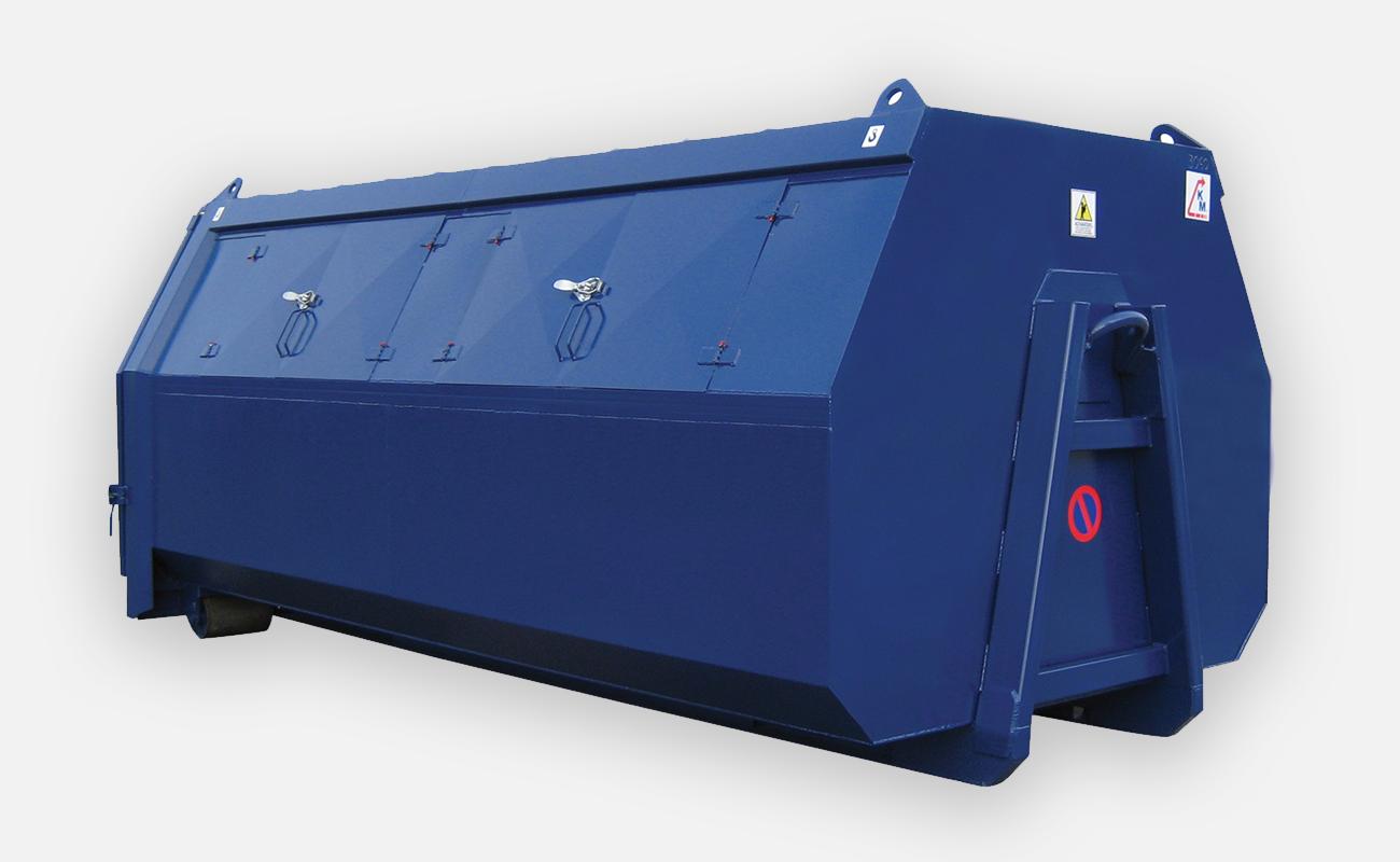 03 418S med tilleggsutstyr: løfteører for kran CE-merket og sertifisert.