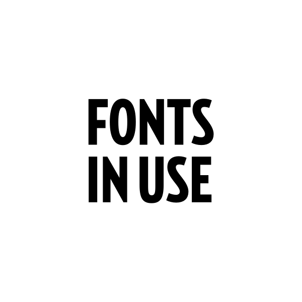 Fonts In Use