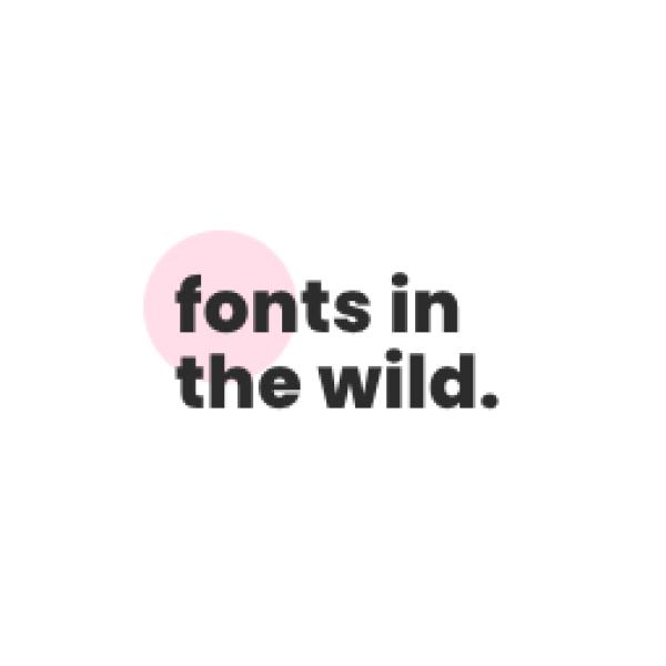Lettertypen in het wild