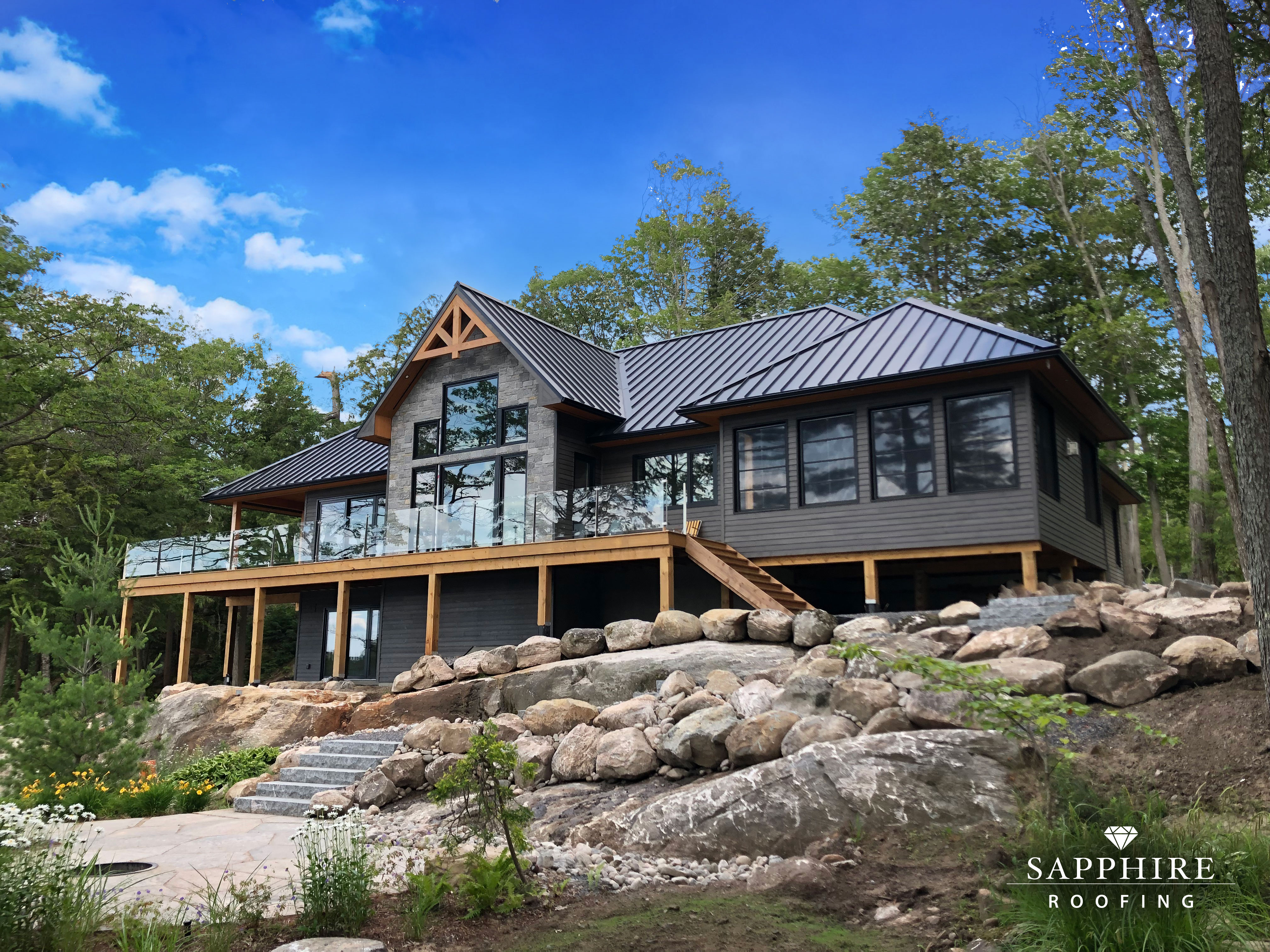 Sapphire Roofing Metal Roofing Standing Seam