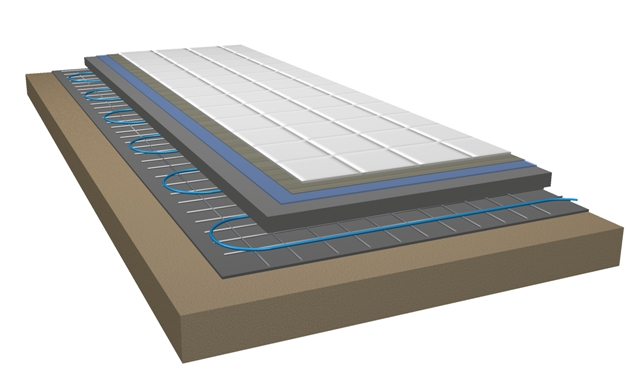 ProFag - Oppbygging gulvvarme ProKabel