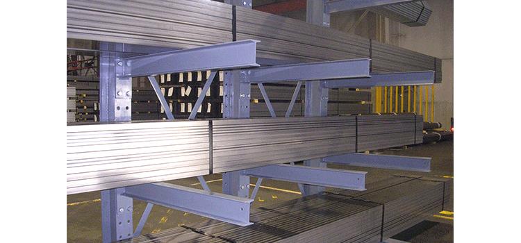 结构悬臂货架