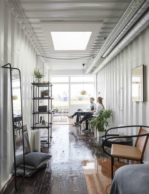 Copenhagen's Coworking Containers