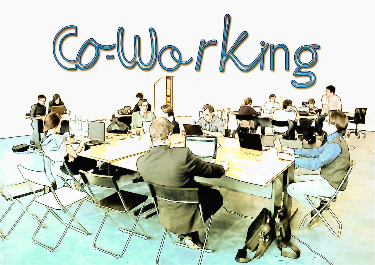 The first coworking space