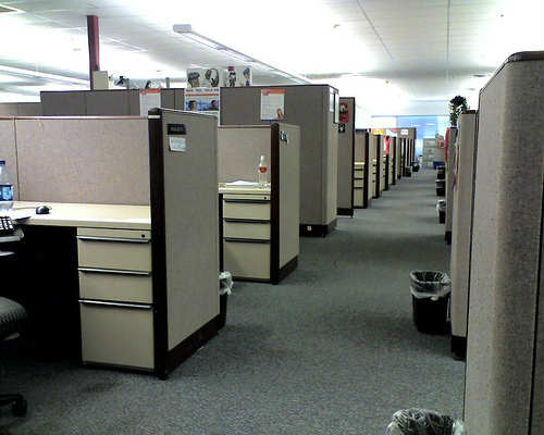 traditional office spaces