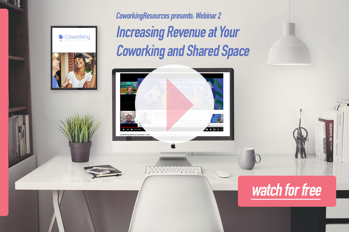 Coworking Webinar - Increasing Revenue at Your Coworking and Shared Space