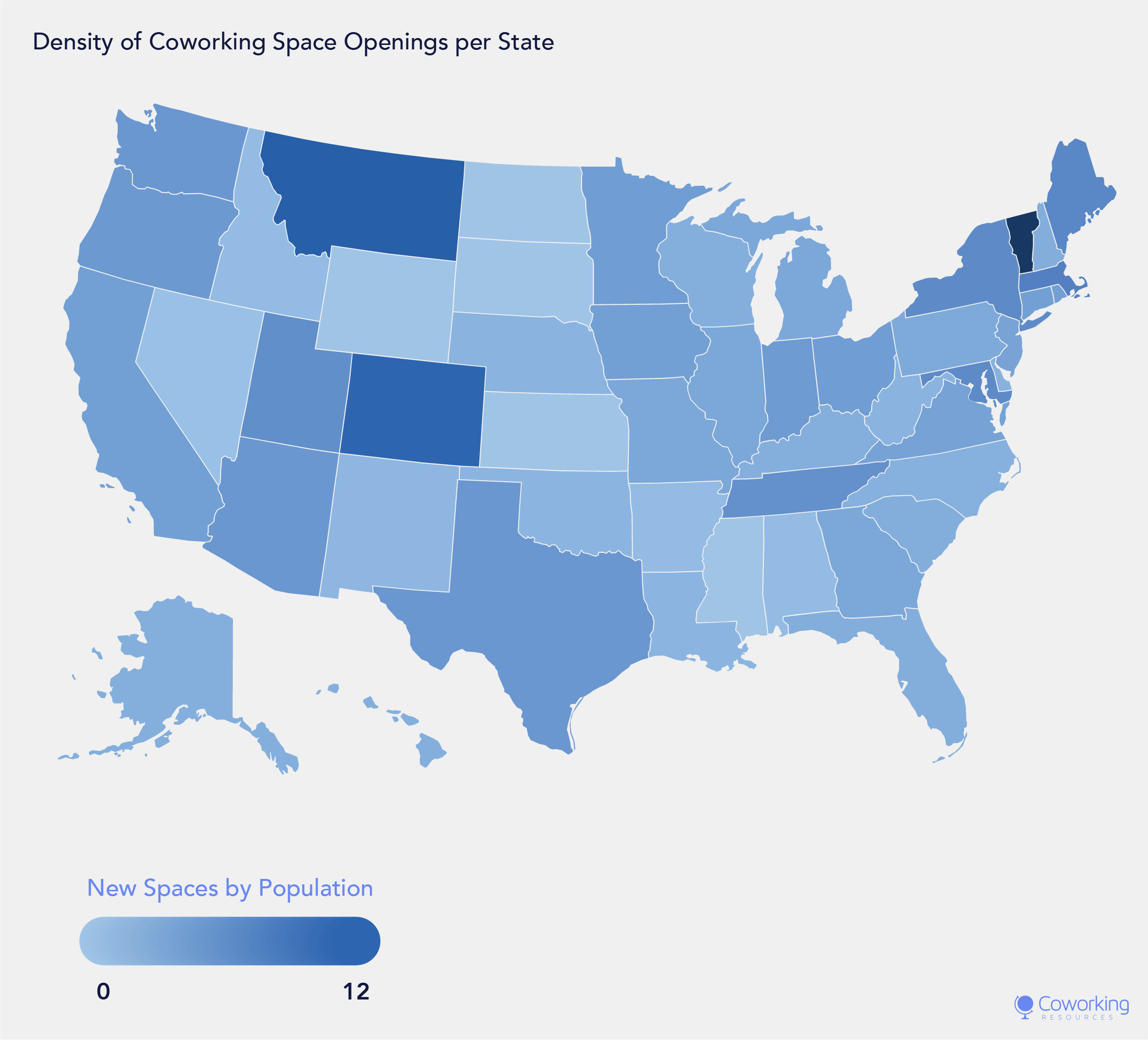 Coworking Space Industry Analysis by State