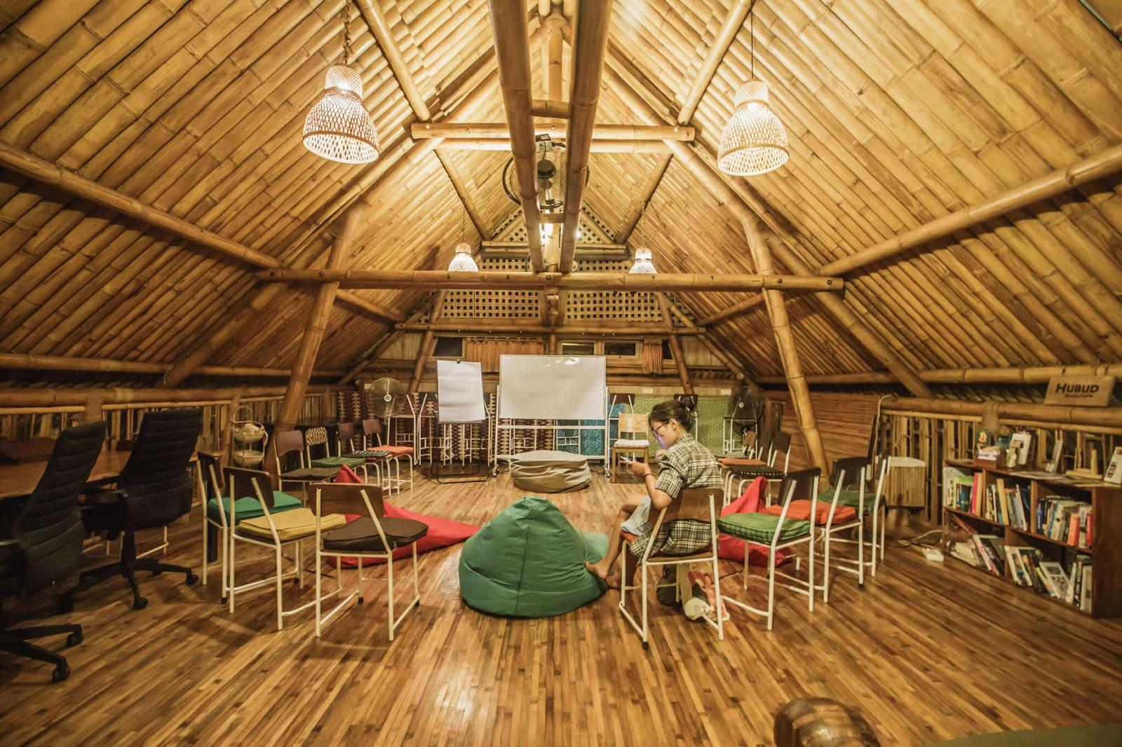 bamboo room at Hubud