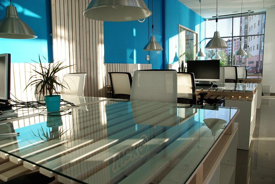 desks with natural light