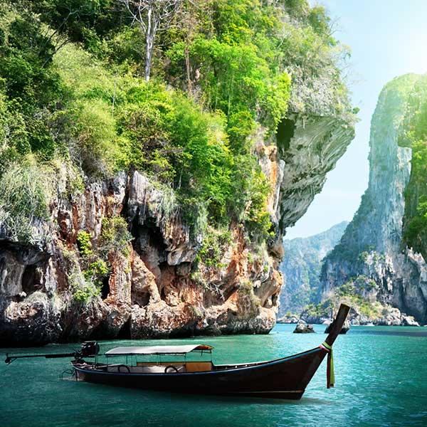 Boat in Krabi, Thailand